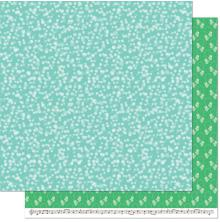 Lawn Fawn Snow Day Remix Double Sided Paper 12X12 - Mittens