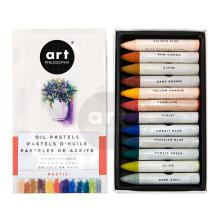 Prima Art Philosophy Water Soluble Oil Pastels 12/Pkg - Rustic