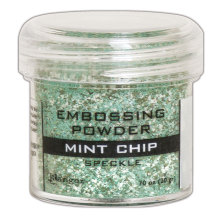 Ranger Embossing Speckle Powder 20g - Mint Chip