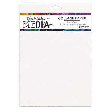 Dina Wakley Media Tissue Pack 7.5X10 20/Pkg - Plain
