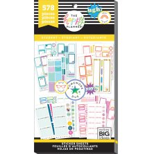 Me & My Big Ideas Happy Planner Sticker Value Pack - Student Functional
