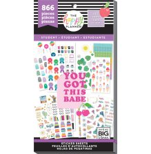 Me & My Big Ideas Happy Planner Sticker Value Pack - Student Icons