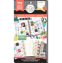 Me & My Big Ideas Happy Planner Sticker Value Pack - Teacher