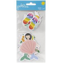 Pebbles Oh Summertime Ephemera Cardstock Die-Cuts 40/Pkg - Icons