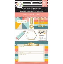 Me & My Big Ideas Happy Planner Multi Accessory Pack - Teacher Retro