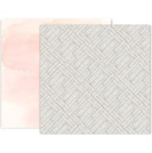Pink Paislee Indigo & Ivy Double-Sided Cardstock 12X12 - #8