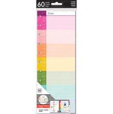 Me & My Big Ideas BIG Half Sheet Fill Paper 60/Pkg - Hourly Color Block
