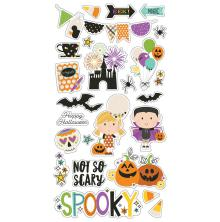 Simple Stories Chipboard Stickers 6X12 - Say Cheese Halloween