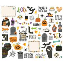 Simple Stories Bits & Pieces Die-Cuts 62/Pkg - Say Cheese Halloween