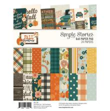 Simple Stories Double-Sided Paper Pad 6X8 24/Pkg - Fall Farmhouse