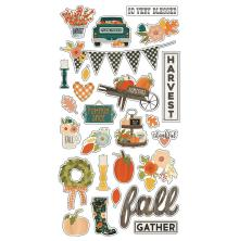 Simple Stories Chipboard Stickers 6X12 - Fall Farmhouse
