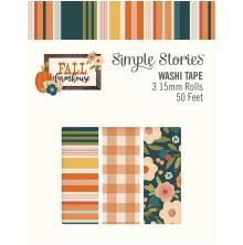 Simple Stories Washi Tape 3/Pkg- Fall Farmhouse