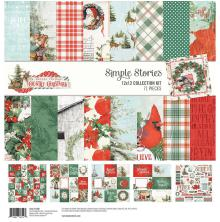 Simple Stories Collection Kit 12X12 - Country Christmas