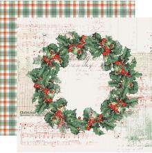 Simple Stories Country Christmas Double-Sided Cardstock 12X12 - Christmas Magic