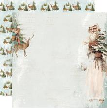 Simple Stories Country Christmas Double-Sided Cardstock 12X12 - Joyous Noel