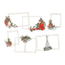 Simple Stories Layered Frames 6/Pkg - Country Christmas