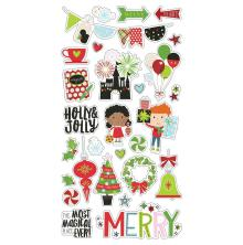 Simple Stories Chipboard Stickers 6X12 - Say Cheese Christmas