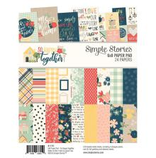 Simple Stories Double-Sided Paper Pad 6X8 24/Pkg - So Happy Together