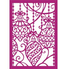 Gemini Create a Card Metal Die -Ornamental Baubles