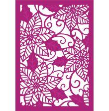 Gemini Create a Card Metal Die -Poinsettia Perfection