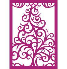 Gemini Create a Card Metal Die -Swirling Tree