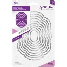 Gemini Elements Metal Die - Scalloped Edge Oval 2