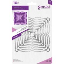 Gemini Elements Metal Die - Torn Edge Square 2