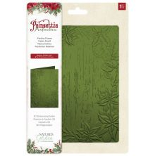 Crafters Companion Poinsettia Perfection 3D Embossing - Festive Frame