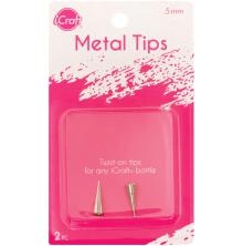 iCraft Metal Tips 2/Pkg