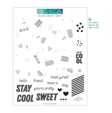 Concord & 9th Clear Stamps 6X8 - Cool Treats Turnabout
