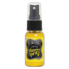 Dylusions Shimmer Spray 29ml - Lemon Zest