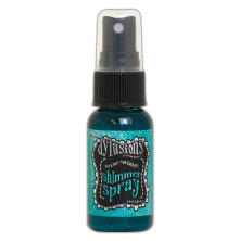Dylusions Shimmer Spray 29ml - Vibrant Turquoise