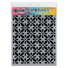Dyan Reaveleys Dylusions Stencils 9X12 - Quilts Large