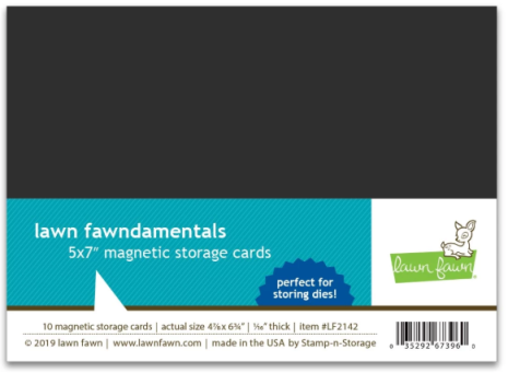 Lawn Fawn Magnetic Storage Cards 5x7 10/Pkg