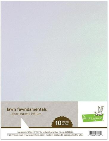 Lawn Fawn Vellum - Pearlescent
