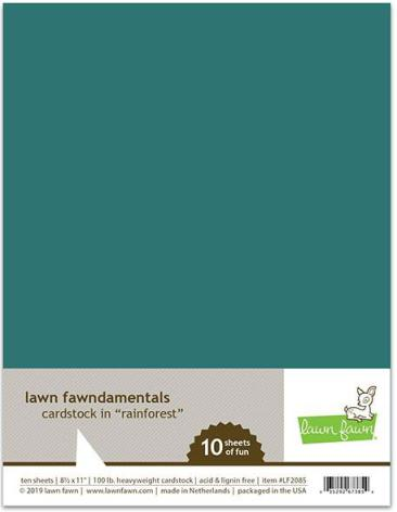 Lawn Fawn Cardstock - Rainforest