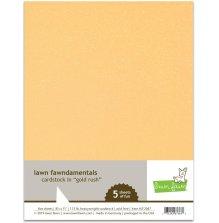 Lawn Fawn Cardstock - Gold Rush