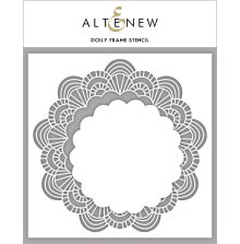 Altenew Stencil 6X6 - Doily Frame