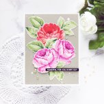 Altenew Clear Stamps 6X8 - Antique Roses