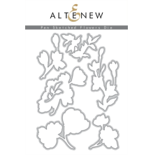 Altenew Die Set - Pen Sketched Flowers