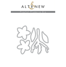 Altenew Die Set - Playful Plumeria