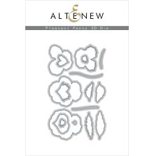 Altenew Die Set - Pleasant Pansy 3D