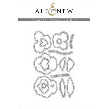Altenew Die Set - Pleasant Pansy 3D