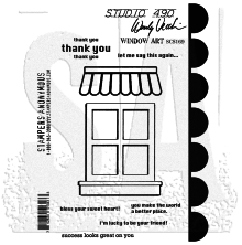 Wendy Vecchi Cling Stamps - Window Art