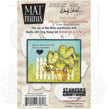 Wendy Vecchi Mat Minis - Basket Of Art Coordinates
