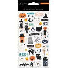 Crate Paper Puffy Stickers 55/Pkg - Hey Pumpkin