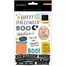 Crate Paper Sticker Book 202/Pkg - Hey Pumpkin