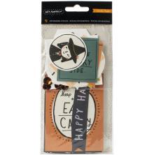 Crate Paper Ephemera Cardstock Die Cuts 40/Pkg - Hey Pumpkin