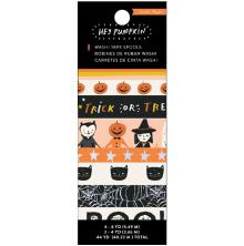 Crate Paper Washi Tape 8/Pkg - Hey Pumpkin