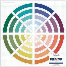 Shimelle Field Trip Die-Cut Cardstock 12X12 - Color Wheel